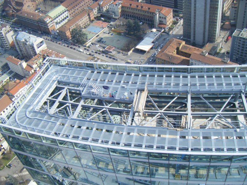 Edifici industriali - Palazzo della Regione Lombardia